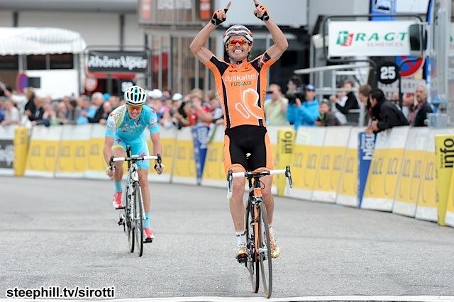 2013, Criterium du Dauphine Libere, tappa 07 Le Pont de Claix - Superdevoluy, Euskaltel Euskadi 2013, Astana 2013, Sanchez Samuel, Fuglsang Jacob, Superdevoluy
