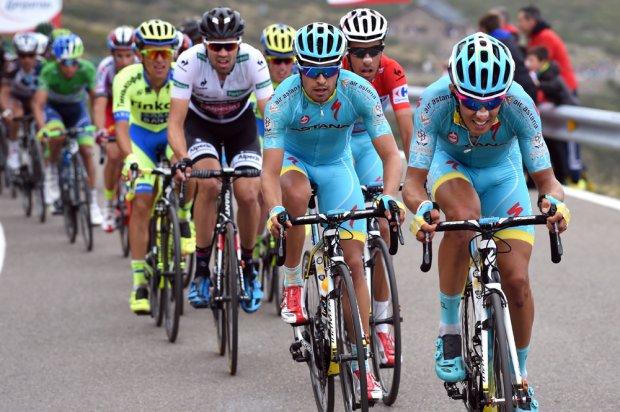 Foto: La Vuelta – Trabajando para Aru, junto a Landa en la  Etapa 20 Vuelta España 2015