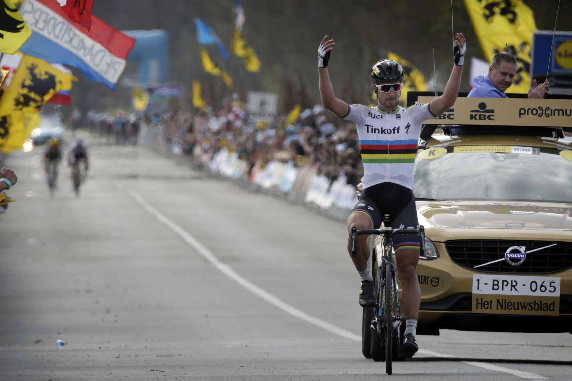 Giro delle Fiandre 2016 - 100a Ronde Van Vlaanderen - Tour of Flanders - Brugge - Oudenaarde 255 km - 03/04/2015 - Peter Sagan (Tinkoff) - foto Nico Vereecken/PN/BettiniPhoto©2016
