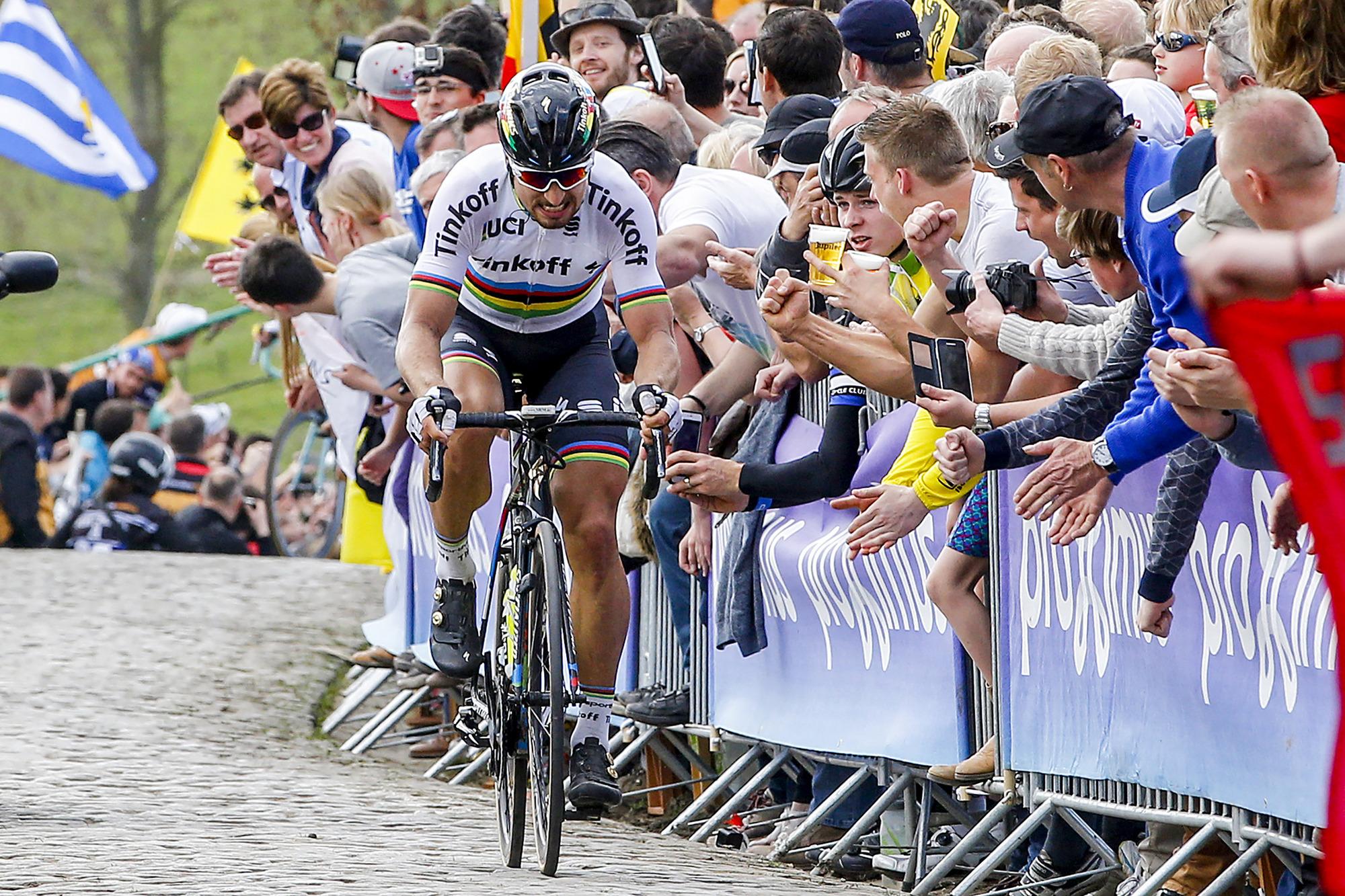 Giro delle Fiandre 2016 - 100a Edizione - Ronde Van Vlaanderen - Tour of Flanders - Brugge - Oudenaarde 255,9 km - 03/04/2016 - Peter Sagan (Tinkoff) - foto Luca Bettini/BettiniPhoto©2016