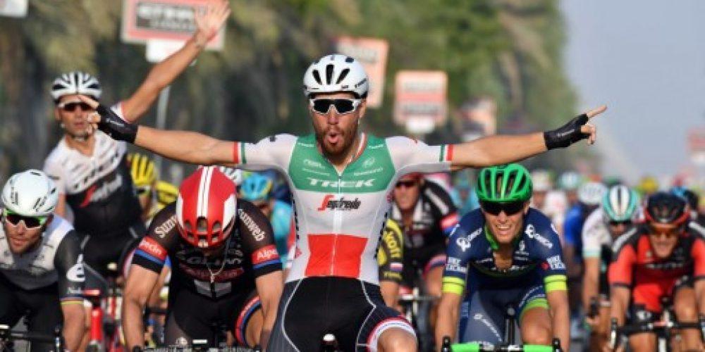 Nizzolo conquista la vittoria nella prima tappa ad Abu Dhabi