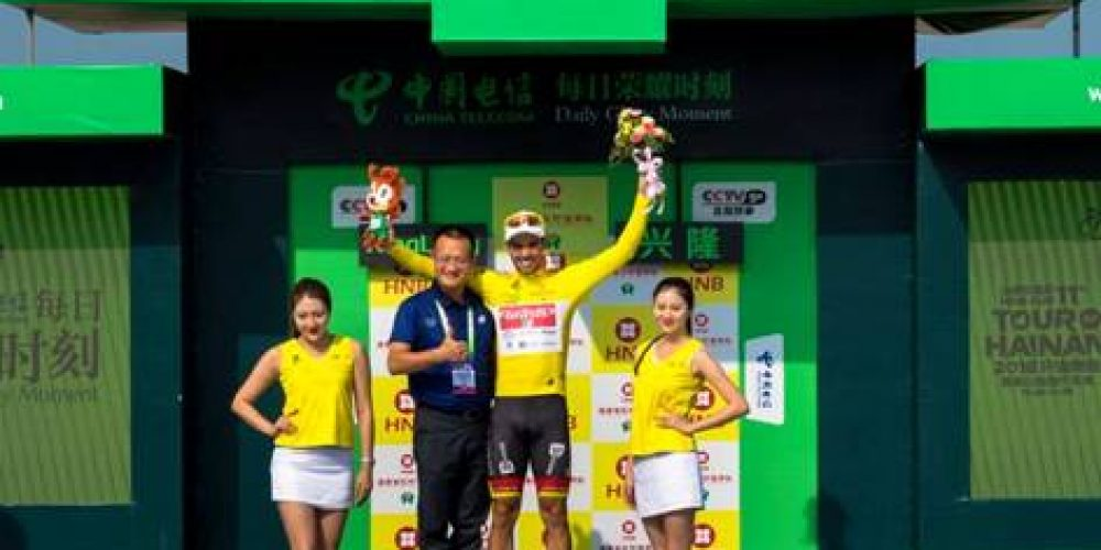 TOUR DU HAINAN: ANDRIATO IS 5TH AND RETAINS THE YELLOW JERSEY