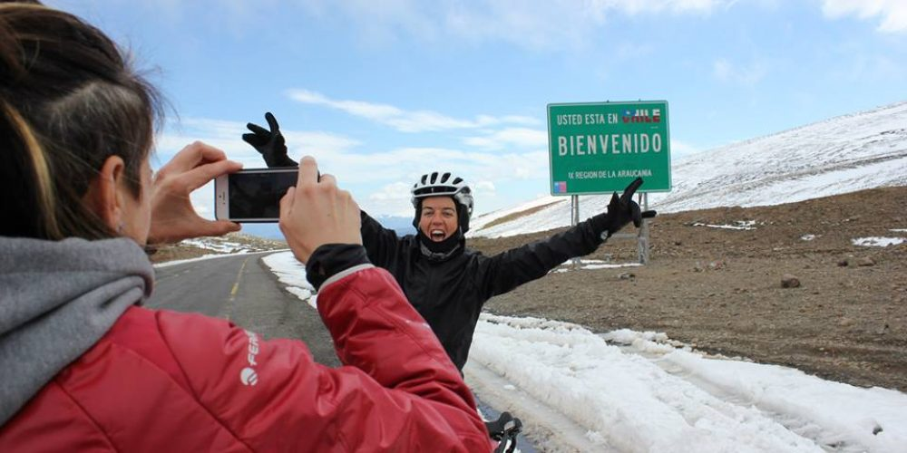 South America, the second stage in Paola Gianotti's world tour