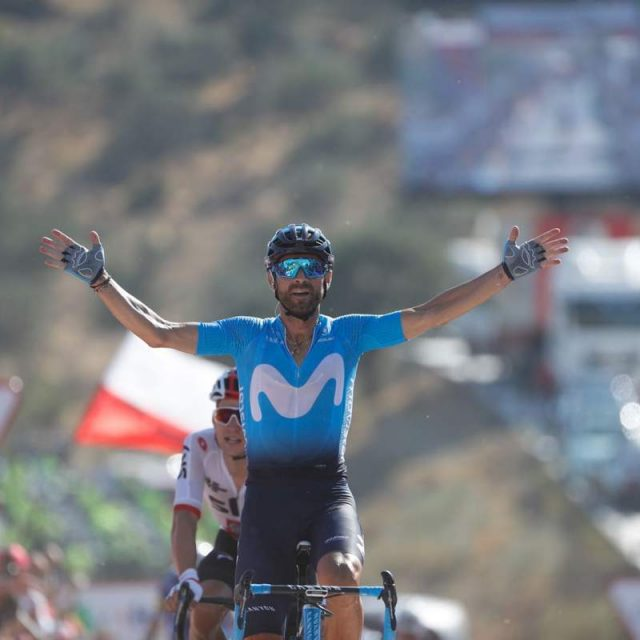 #LAVUELTA: DON ALEJANDRO, 38 YEARS OLD, HE'S NOT TRAINING UPHILL BUT KEEP GOING FAST…