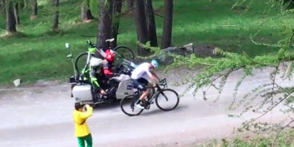 FROOME'S PLANNINGS, PERFECT AT THE BEGINNING, THEN EXTREME SUBLIME