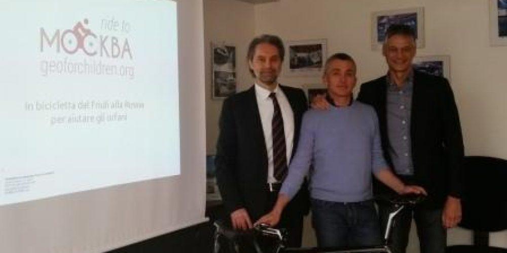 Ride to Moscow, in bici dal Friuli a Mosca per aiutare gli orfani russi
