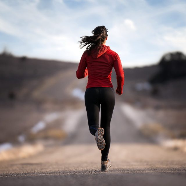 Running is good for both body and mind