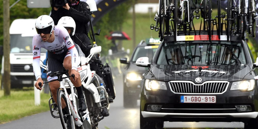 Cancellara vince il prologo del Tour de Suisse