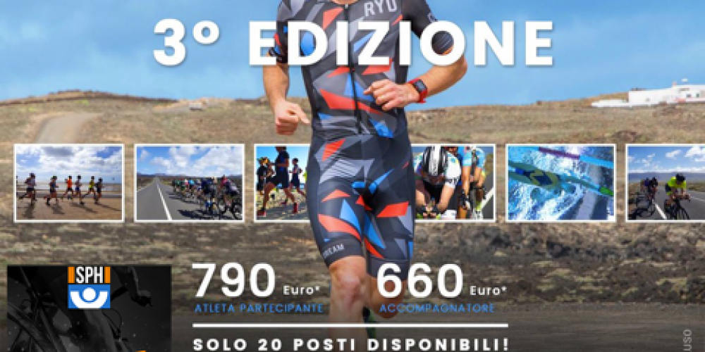 TRIATHLON: UN CAMP SCIENTIFICO NELL'ISOLA DEI VULCANI LANZAROTE