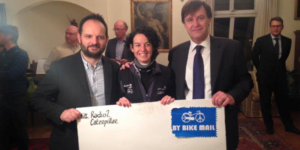 Paola Gianotti has done it! She finally reached Oslo