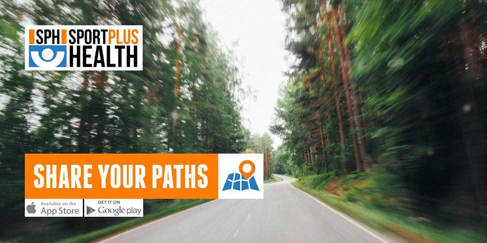 Con la App SPH puede compartir tus recorridos. Y ver las de los otros