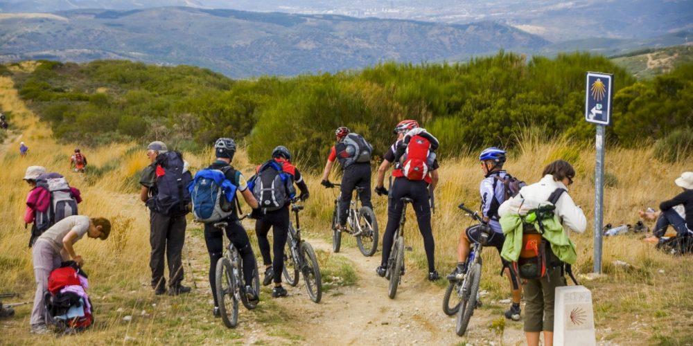 The Camino de Santiago by bike