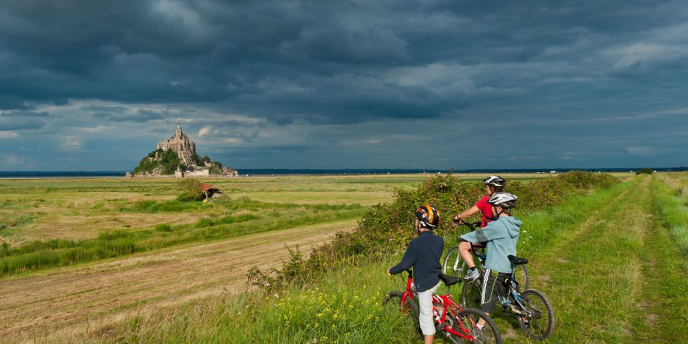 Véloscénie, from Paris to Mont-Saint-Michel by bicycle