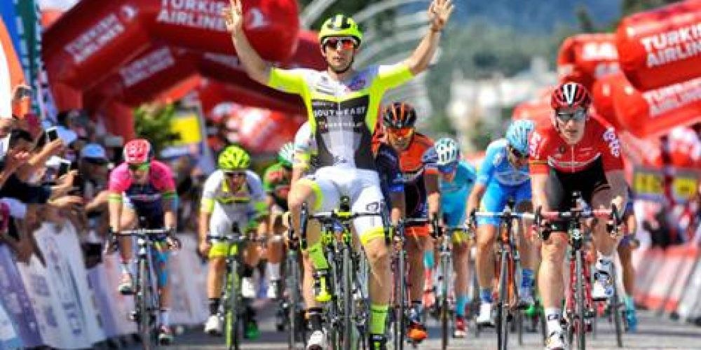 TOUR OF TURKEY: 1ST MARECZKO AND 3RD BELLETTI IN AN AMAZING SPRINT