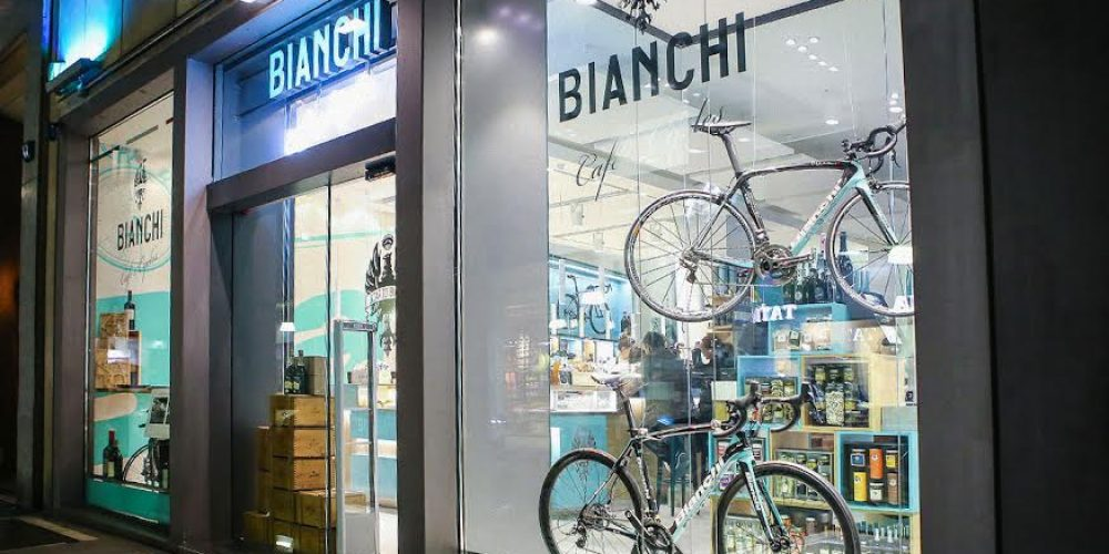 Bianchi Café & Cycles, from Sweden to Milan via Tokyo