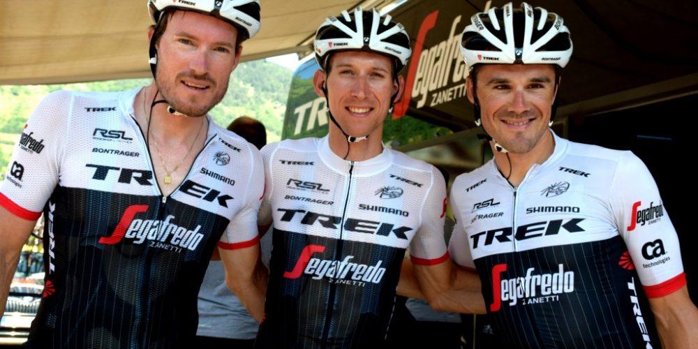 Mollema, Rast e Irizar della Trek-Segafredo rinnovano i loro contratti per altri due anni