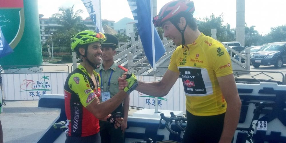 TOUR OF HAINAN: RAFAEL ANDRIATO IS BACK ON THE PODIUM