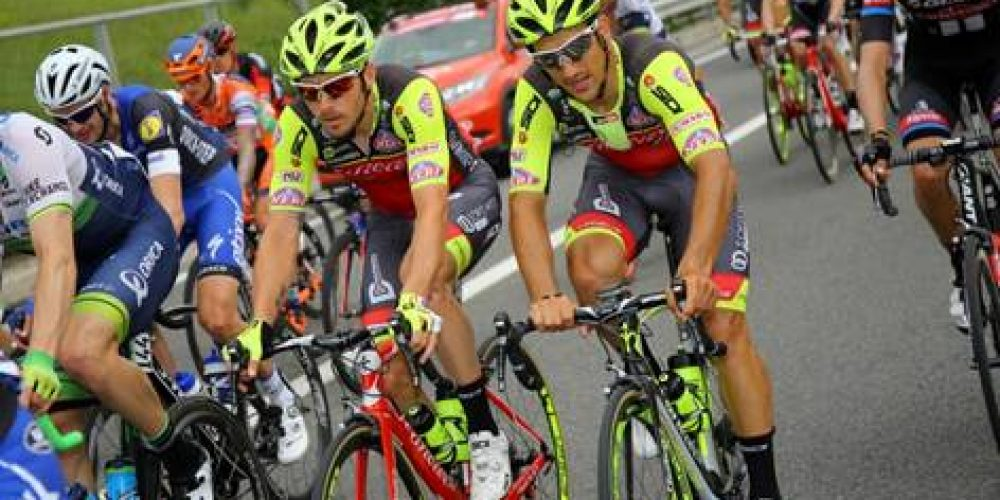 MANUEL BELLETTI IS 6TH IN THE 5TH STAGE OF THE GIRO D'ITALIA