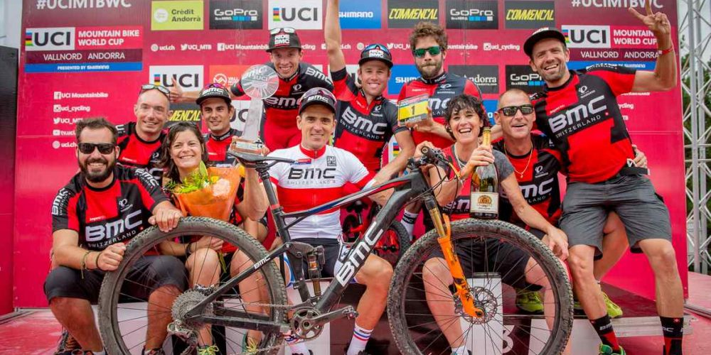 Spectacular World Cup Close for Absalon and the BMC Team