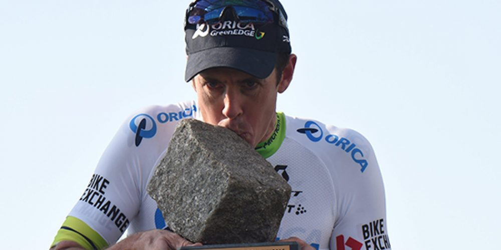 Mathew Hayman wins Paris Roubaix, settles unfinished business