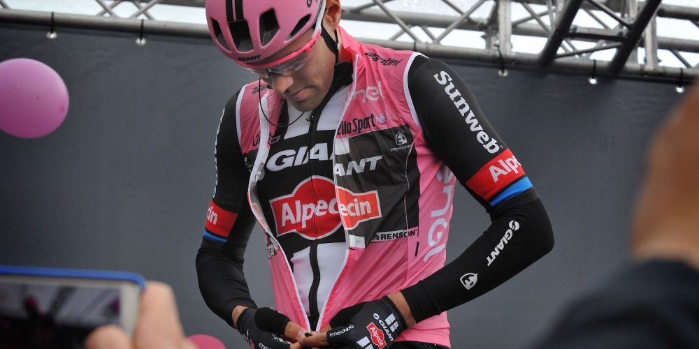 TOM DUMOULIN RETAINS PINK AND EXTENDS LEAD AT THE GIRO D'ITALIA