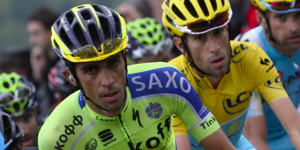 #LAVUELTA: STEEP DESCENTS, HEAVY CLIMBS. WELCOME THE DUO CONTADOR-NIBALI