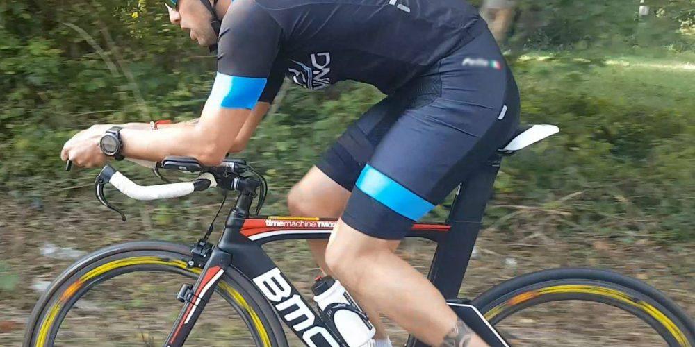 Paolo Lanfranco è pronto a sfidare il mito dell' Ironman