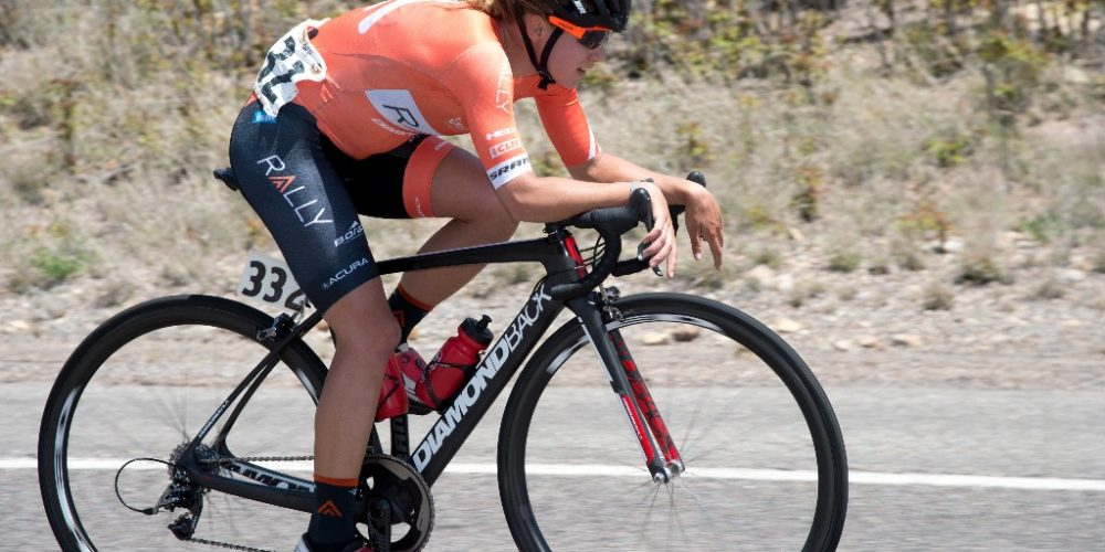Jasmin Glaesser Wins Stage 2 of Tour of the Gila.