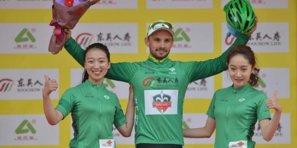 TOUR OF TAIHU LAKE: MARECZKO ON THE PODIUM AGAIN, THE GREEN JERSEY IS CLOSER