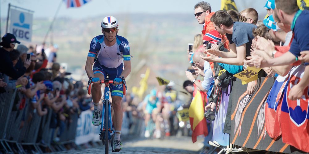 Emotional ninth place for Claeys in Tour of Flanders