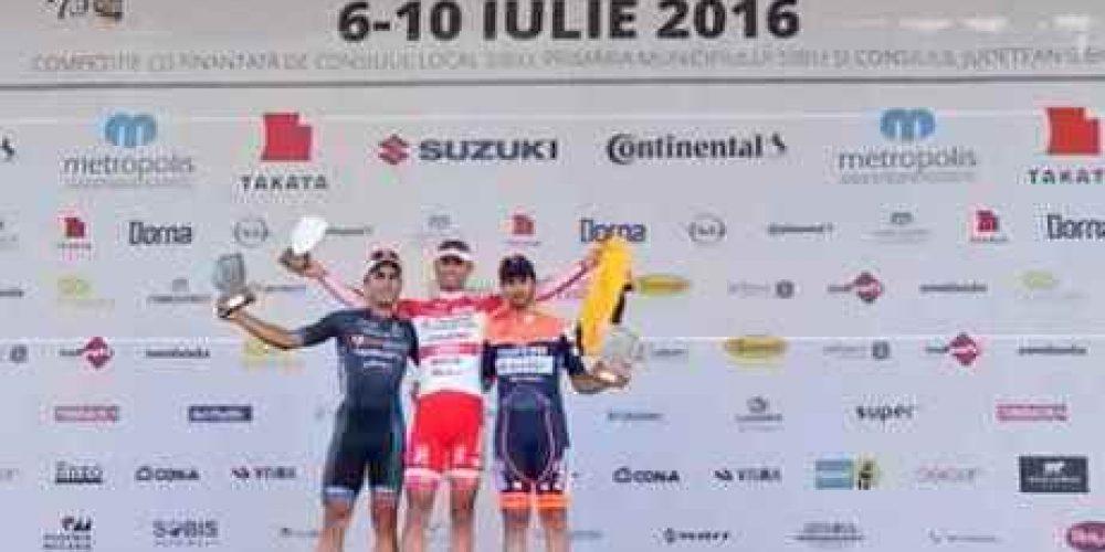 DOPO TRE SECONDI POSTI, LA VITTORIA CON VIGANO' AL SIBIU CYCLING TOUR