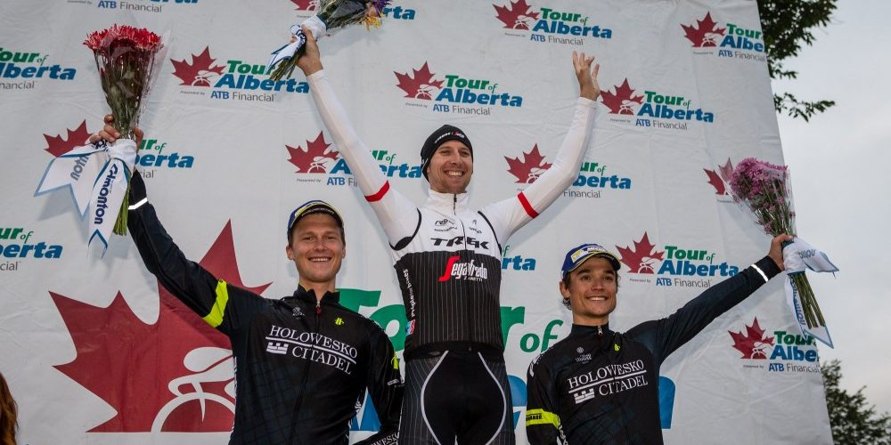 Bauke Mollema wins Tour of Alberta time trial