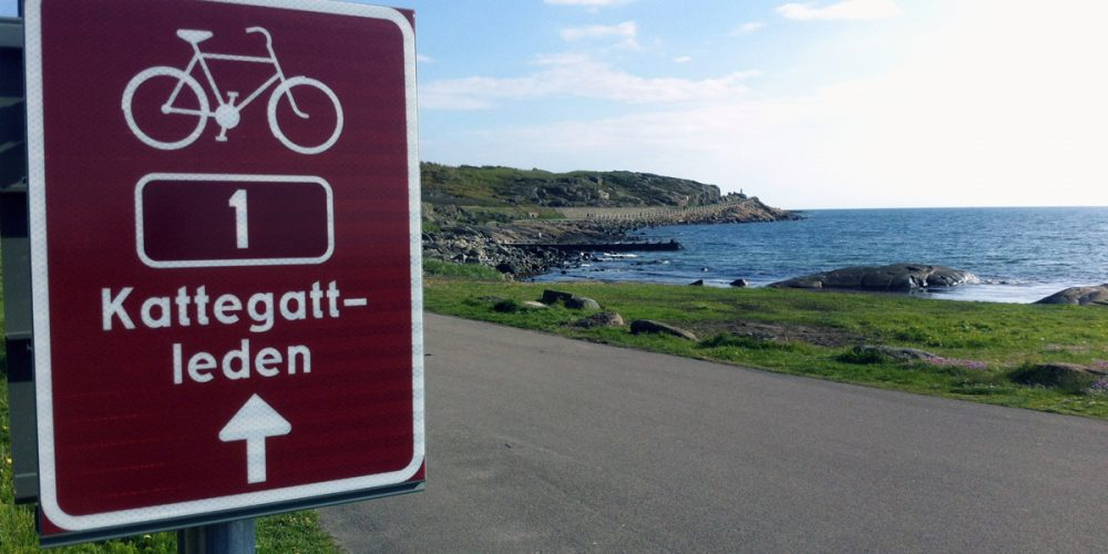 Kattegattleden, the bicycle lane which discloses the beauties of Sweden