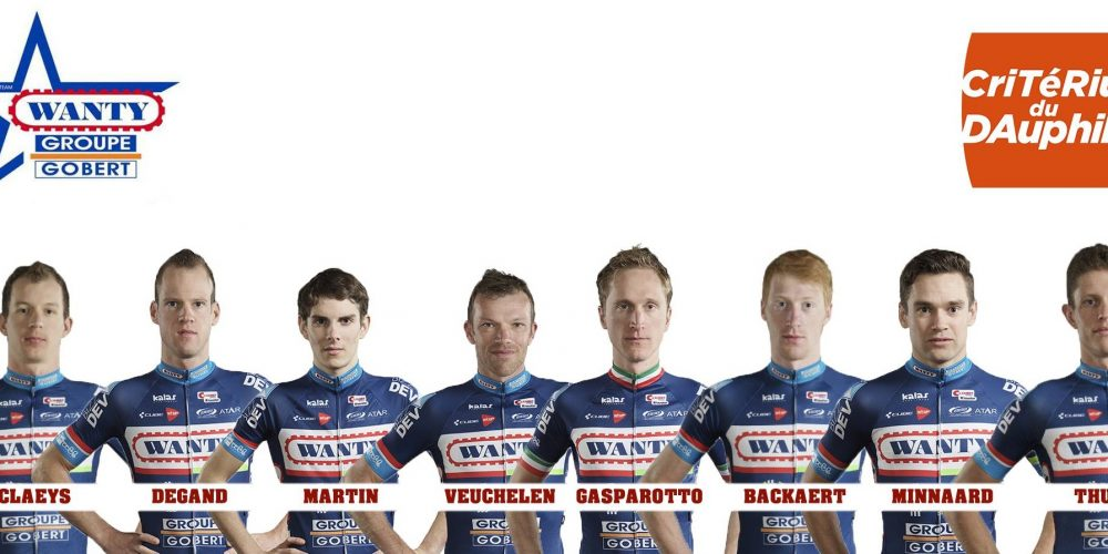 Wanty – Groupe Gobert did a recon of the Mont Chéry