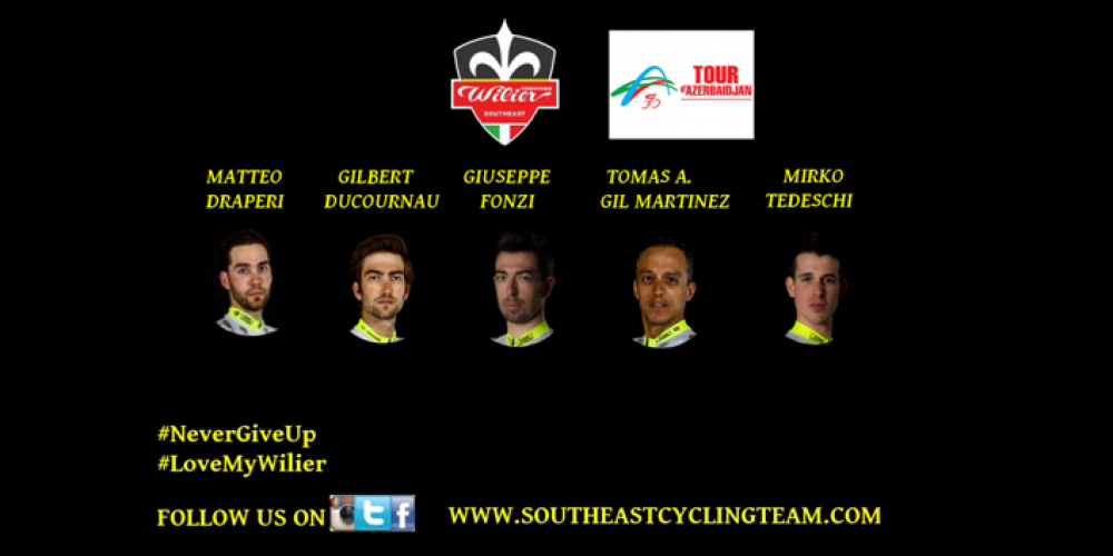 TEAM LINE UP FOR TOUR D'AZERBAIDJAN