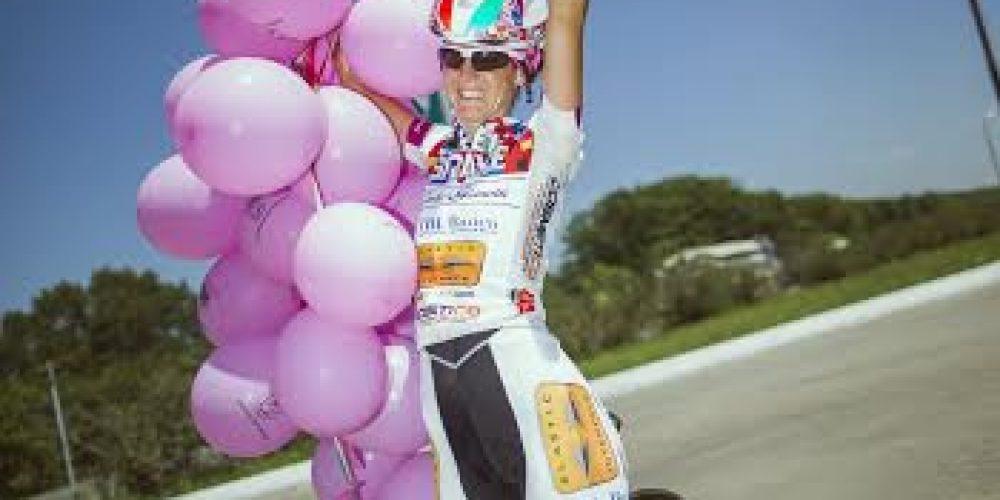 Paola Gianotti y Paolo Aste en el podio de la Transiberiana!