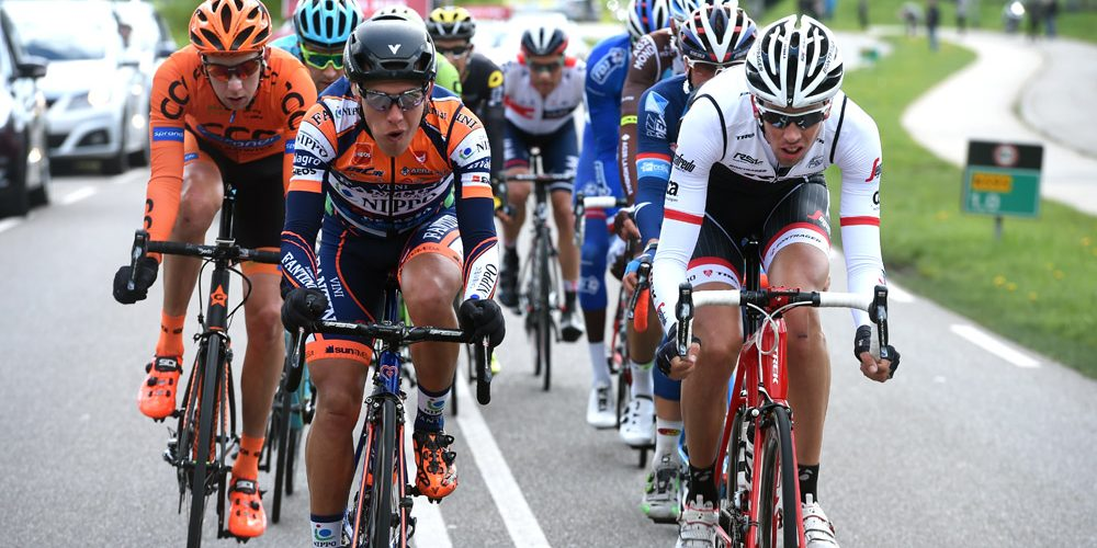 Felline infortunato all'Amstel Gold Race