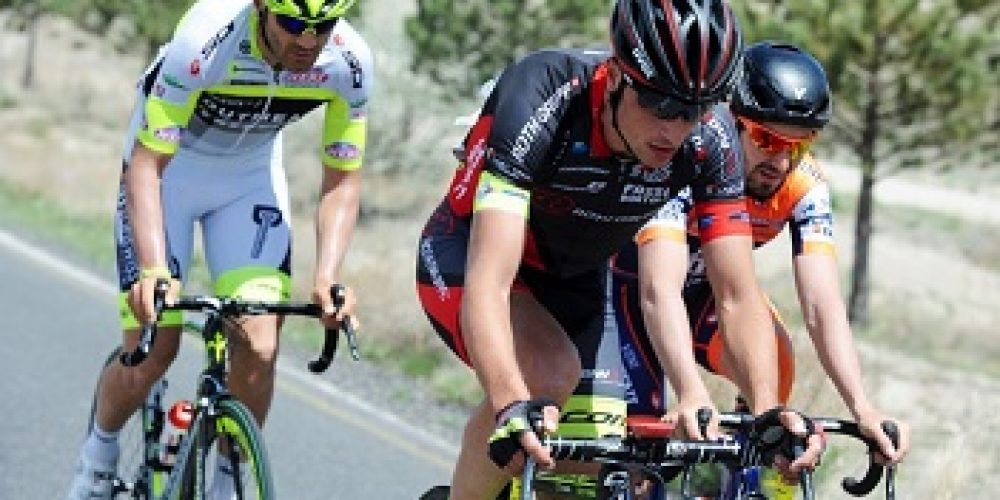 TOUR OF TURKEY:EUGERT ZHUPA IN THE BREAKAWAY OF THE 2ND STAGE