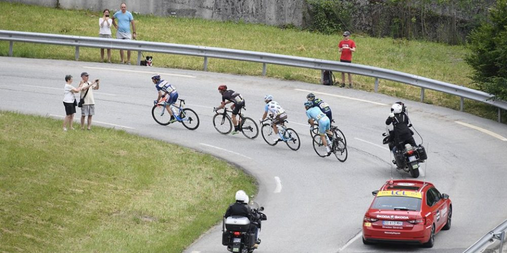 Wanty-Groupe Gobert active in Vaujany