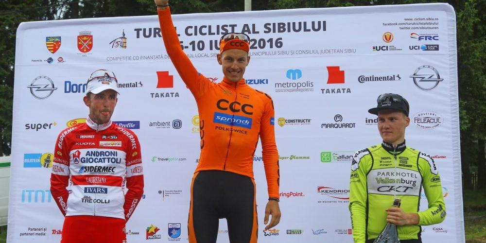 CON GAVAZZI , ANCORA UN PODIO DELL'ANDRONI – SIDERMEC AL SIBIU CYCLING TOUR