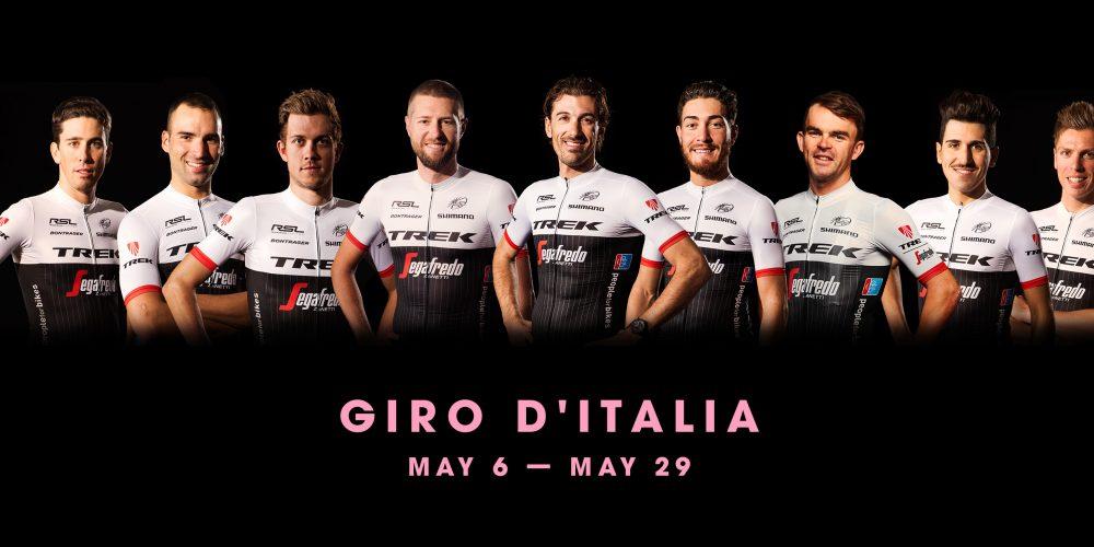 Trek-Segafredo announces 2016 Giro d'Italia line-up