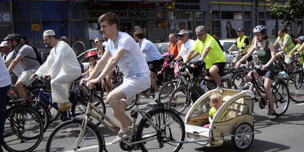 Poland, bicycles' friend at the European Cycling Challenge 2015