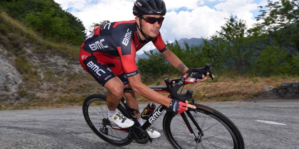 Caruso rinnova il contratto con il team di BMC Racing