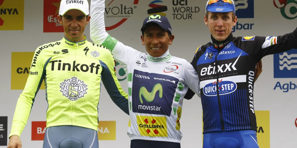 Nairo Quintana  se impuso en Catalunya y va con toda por el Tour