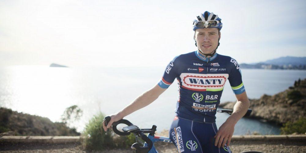 Kevin Van Melsen prolunga il suo contratto con la Wanty-Groupe Gobert