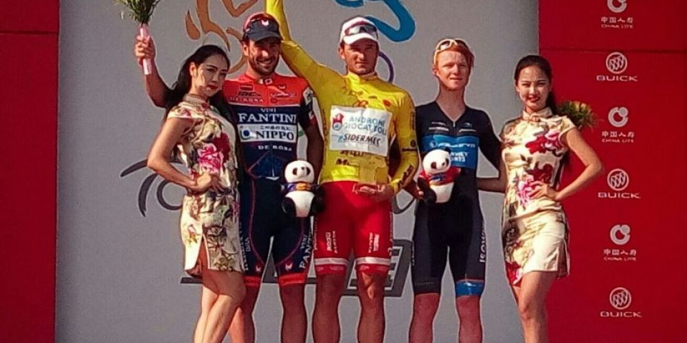 A BENFATTO L'ULTIMA TAPPA E LA GENERALE DEL TOUR OF CHINA 2