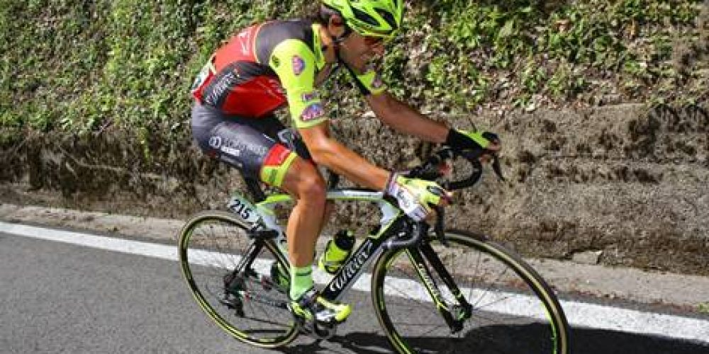 GIRO D'ITALIA: MATTEO BUSATO IN THE BREAKAWAY TOWARDS CIVIDALE DEL FRIULI