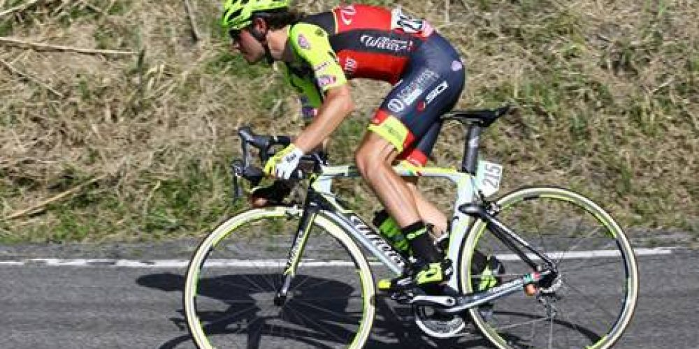 MATTEO BUSATO IS 8TH IN THE 4TH STAGE OF GIRO D'ITALIA
