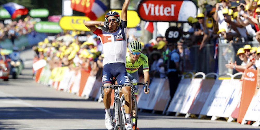 Tour de France, étape 15 – Jarlinson Pantano «J'avais du respect pour Majka mais j'étais prêt à réaliser mon rêve»