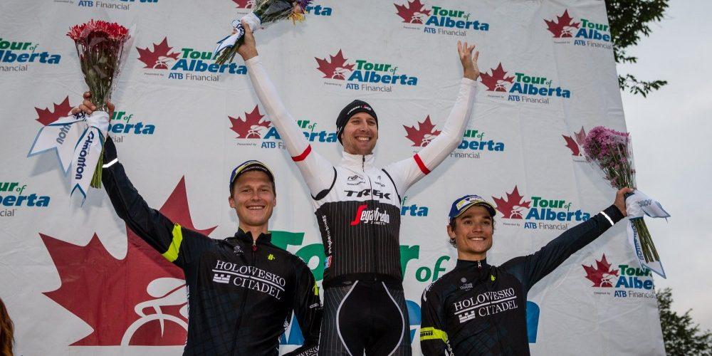 Bauke Mollema vince la cronometro al Tour di Alberta